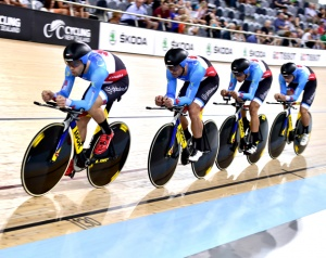 UCI Track Cycling World Cup II 2015-16 - Cambridge, New Zealand