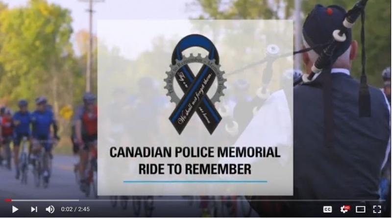 2017 Ride to Remember Commemorative Video