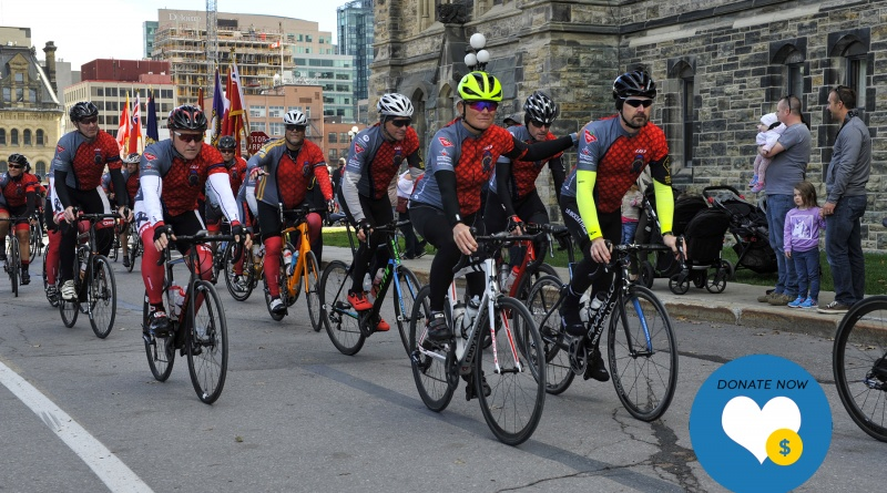Support the 2019 Canadian Police and Peace Officers' Memorial Ride to Remember